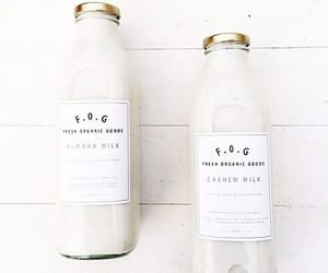 white, drink, and food image