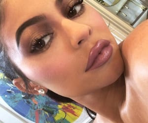 lipstick, kylie jenner, and makeup image