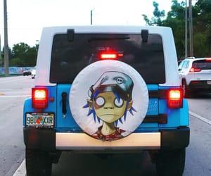 florida, gorillaz, and jeep image