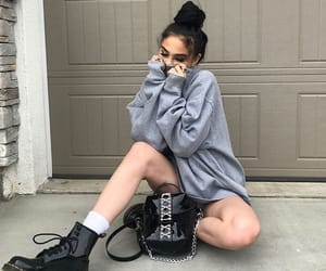 girl, maggie lindemann, and outfit image