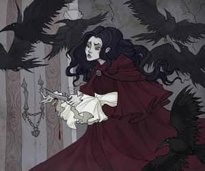 fairy tale, grimm, and the seven ravens image