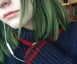 aesthetic, avatar, and green image