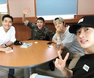 donghae, eunhyuk, and siwon image