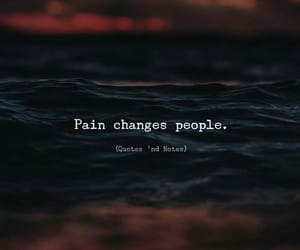 change, pain, and popular image