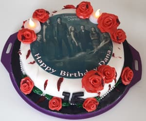 Vampire Diaries, the vampire diaries, and blood cake image
