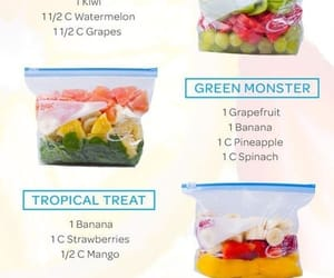 food, fruit, and smoothies image