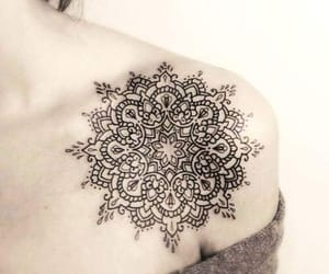 tattoo, mandala, and tatoo image