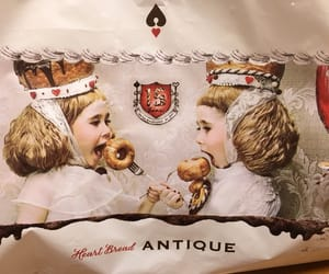 antique, バン, and bread image