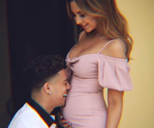 austin mcbroom, pregnancy, and catherine paiz image