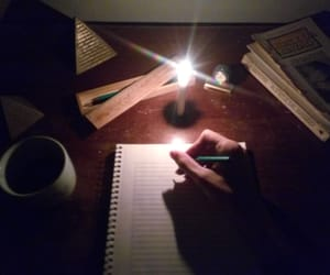 candlelight and whitepaper image