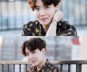 bts, 💋, and jhope naver x dispatch image