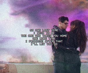 ariana grande, Lyrics, and one last time image