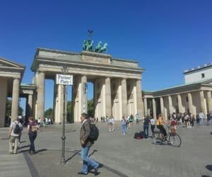 berlin, landmark, and travelling image