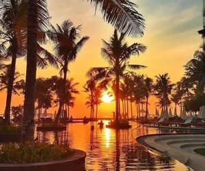 bali, resort, and view image