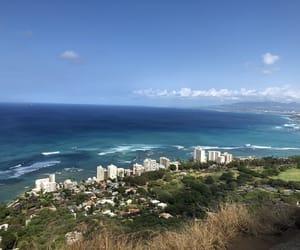 beach, beach view, and hawaii image