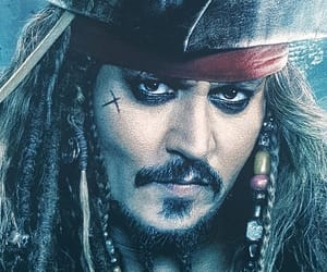 jack sparrow, johnny depp, and movie image