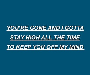 blue, quote, and depressed image