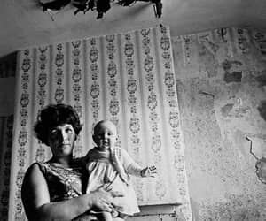 1971, mother and baby, and slum property sparkbrook image