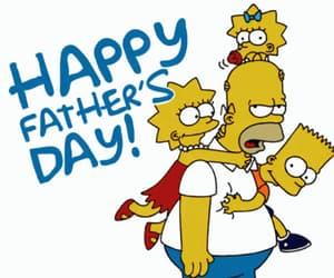 father, cartoon, and dad image