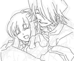 anime, anime couple, and xerxes break image