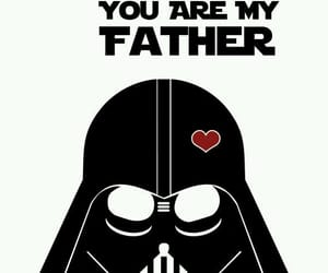 art, DarthVader, and fathers image