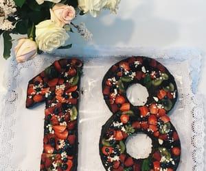 18, birthday, and cake image