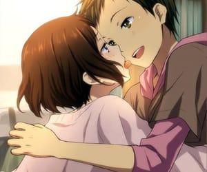 anime, anime boy, and love image