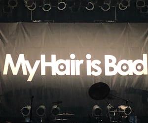 ロック, マイヘア, and my hair is bad image