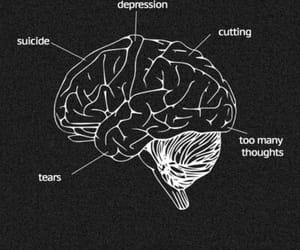 suicide, depression, and cutting image