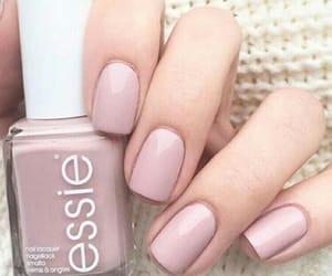 nails, dress, and fashion image