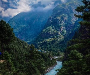 nature and nepal image