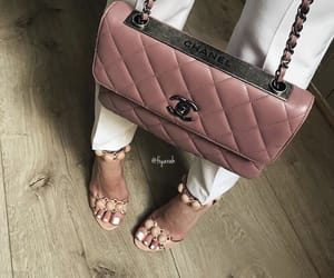 fashion style, outfit clothes, and chanel high heel image