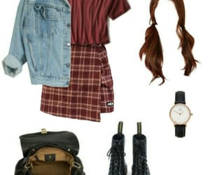 jacket, jean, and Polyvore image