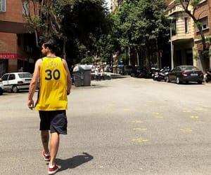 Barcelona, Basketball, and casual image