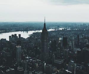 city, grunge, and new york image