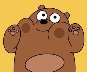 bear, we bare bears, and cartoon image