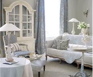 blue, decor, and interior image