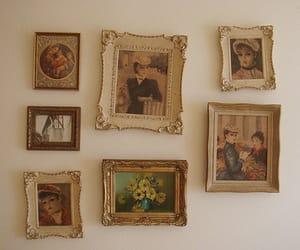 vintage, art, and frames image