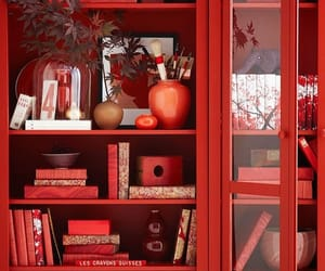 red and book image