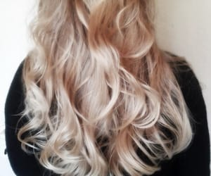 beautiful hair, blonde hair, and fashion image