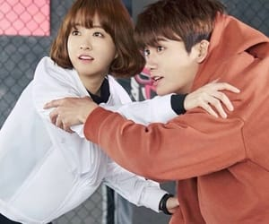 park bo young, couple, and kdrama image
