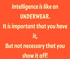 funny, intelligence, and quotes image