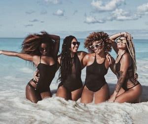 beach, girl, and melanin image