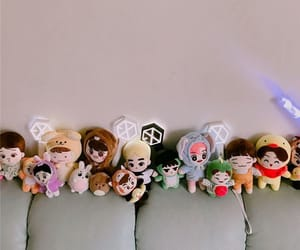 aesthetic, exo-l, and merch image