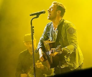 coldplay, Chris Martin, and festival image
