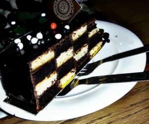 cake, girls, and hijab image