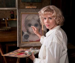 big eyes, Amy Adams, and art image