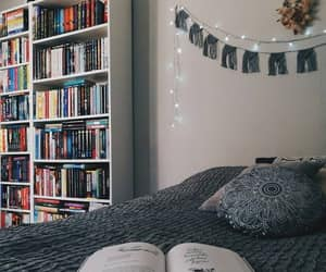 books, decoration, and Dream image