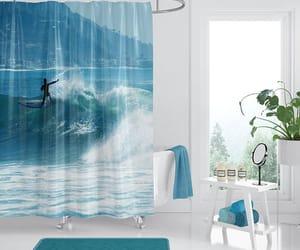 bathroom, beach home decor, and etsy image