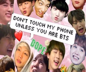 derp, bts, and funny image